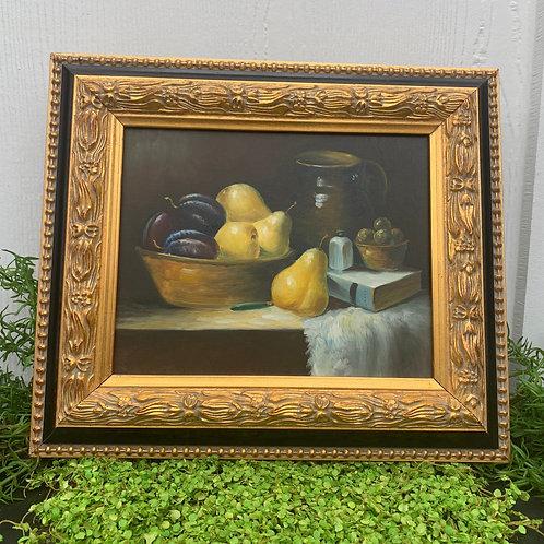 Vintage Fruit Artwork