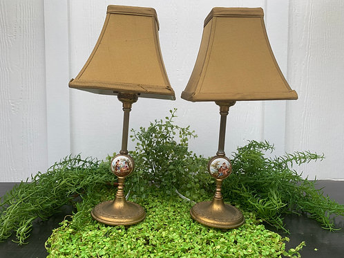 Dainty Vintage Lamps