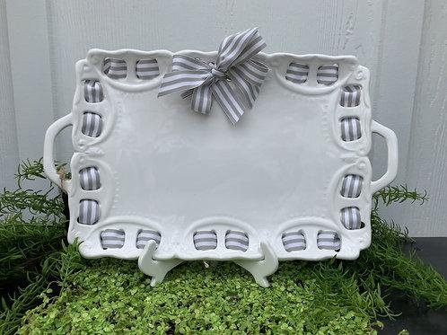 Small Ceramic Platter