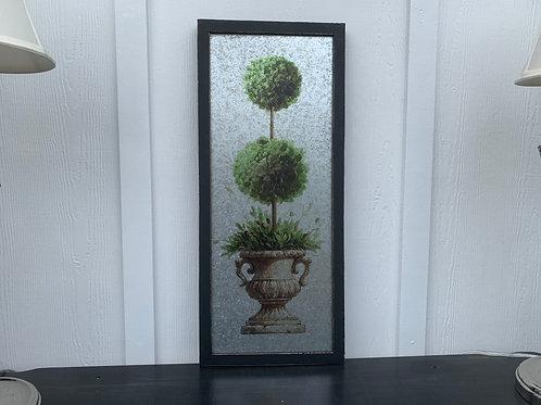 Double Ball Topiary Wall Art
