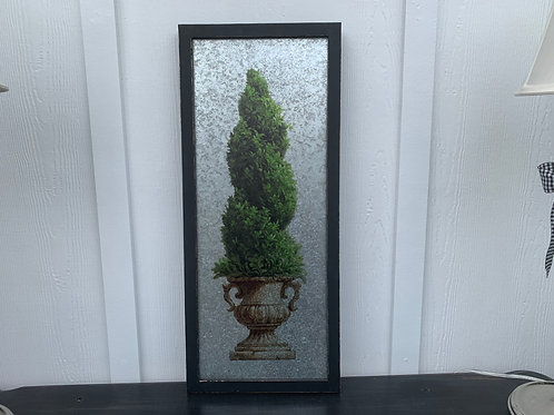 Twisted Topiary Wall Art