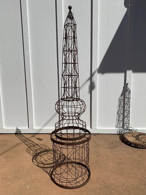Round Wire Obelisk