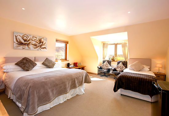 Tigh an Each B&B Family Suite with superking and single beds