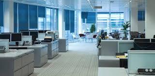 Shiney Blue Office