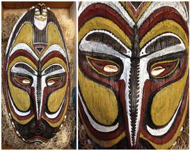 Sepik River Region Ceremonial Mask