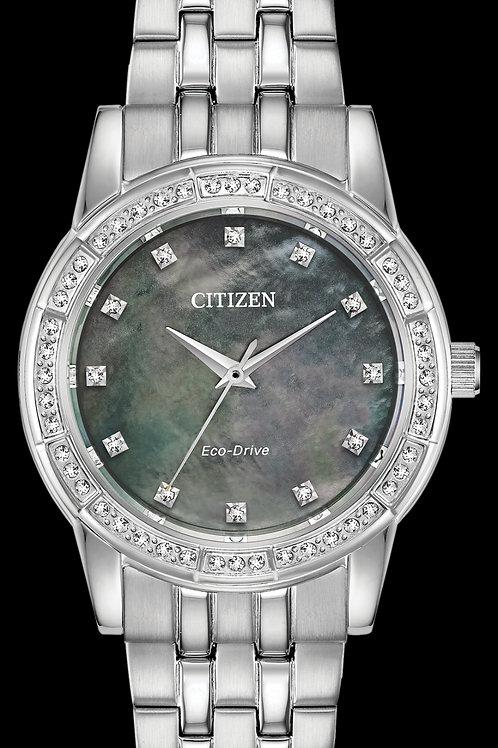 Citizen Eco-Drive Silhouette Crystal