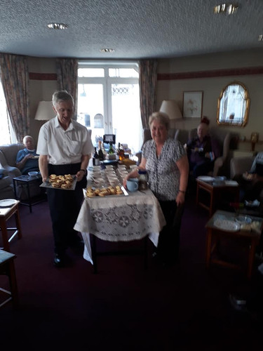 Afternoon tea, scones and raffle 11th April