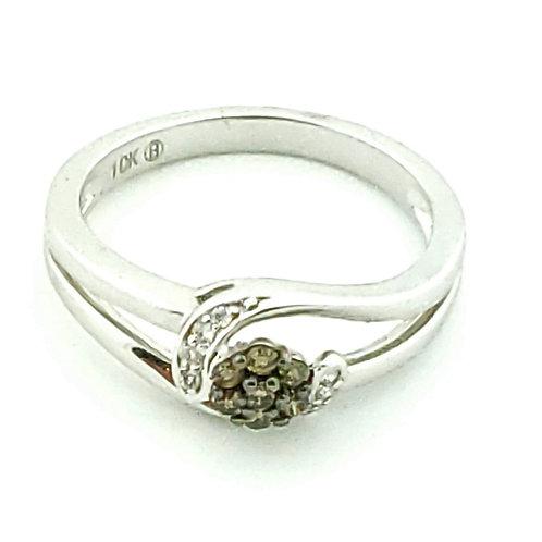 10KW 'Caramel' .15cttw Diamond Ring