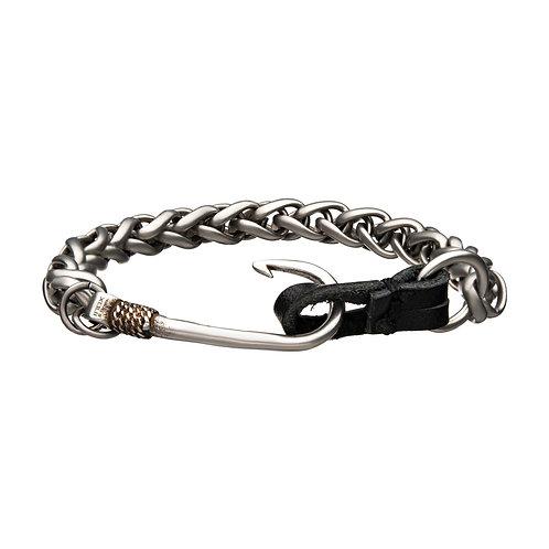 Men's Stainless Steel Hook Bracelet