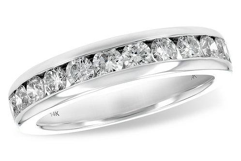14KW 1.00ct Diamond Anniversary Ring