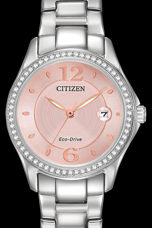 Citizen Eco-Drive Silhouette Crystal