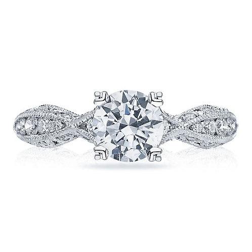 Tacori Classic Crescent Platinum Engagement Ring