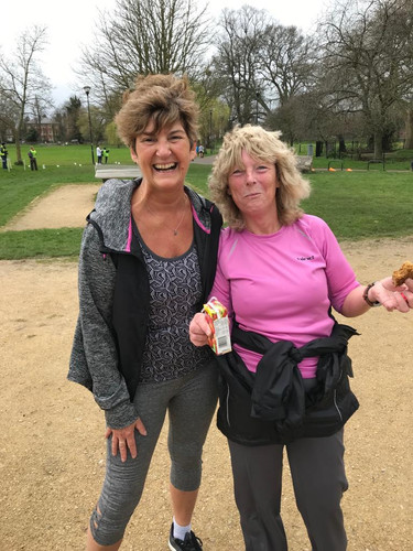 Cake sale for park runners 16th March