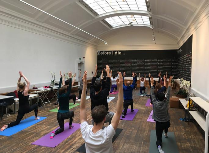 Yoga with Yogi Claire 7th April