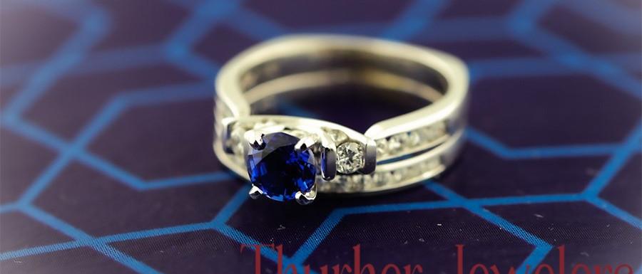 Blue Sapphire Beauty