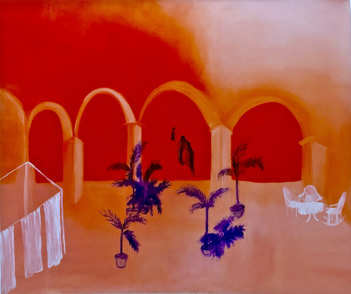 Orange Feeling by Krystyna Fitz-Harris