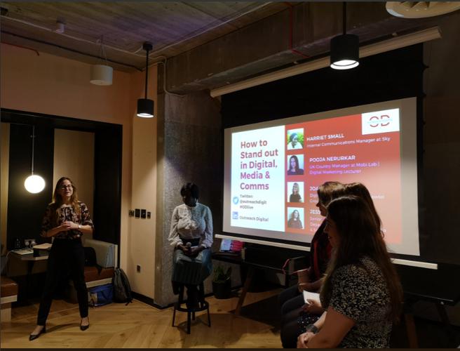 Outreach Digital, 'Women in Digital' event 6th March