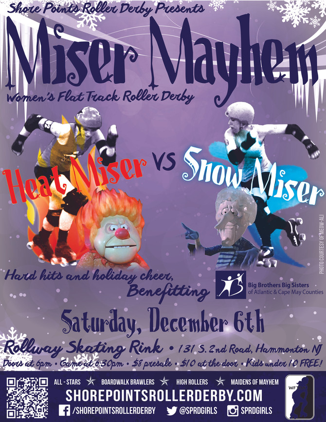 Hard Hits and Holiday Cheer - It's Miser Mayhem!