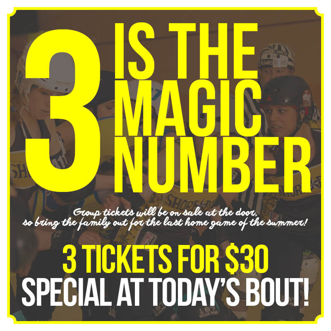 Group Ticket Rate at Tonight's Bout