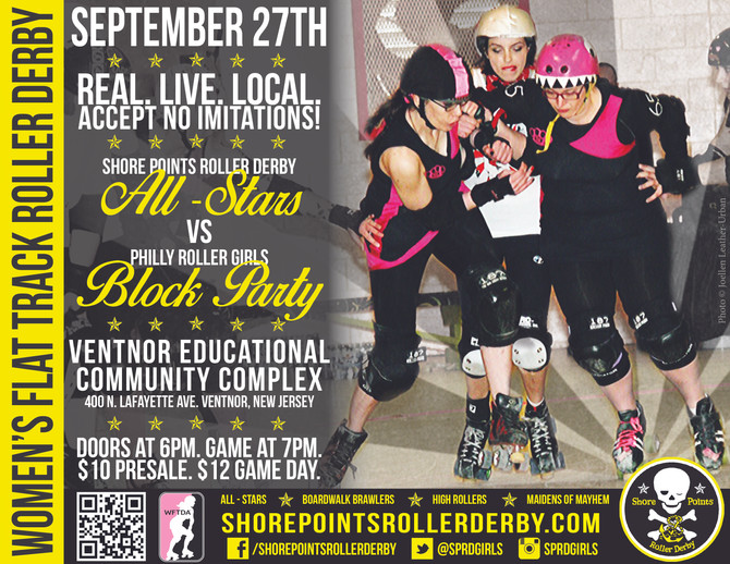 Rematch: September 27th vs PRG Block Party
