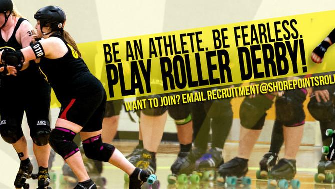 Roller Derby Bootcamp Starts April 26th!