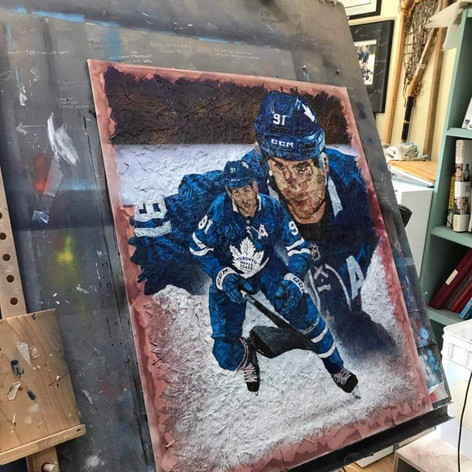 Work in progress of John Tavares