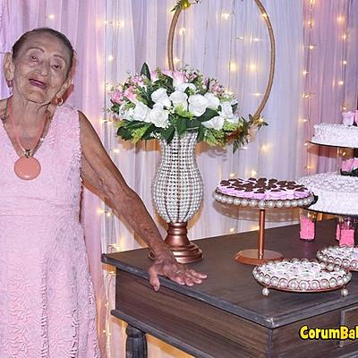 Aniversário 100 anos Luzia