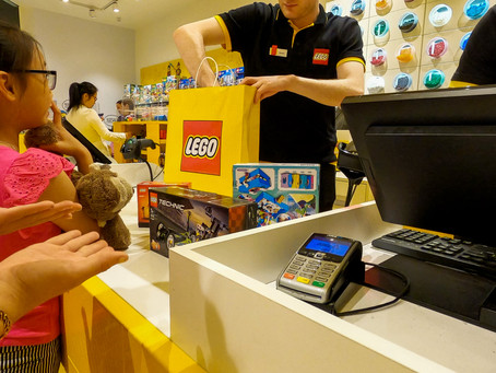 The Broadway Lego Store