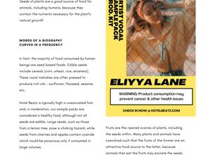 Introducing Eliyya Lane! Featured Artist Sneak Peak