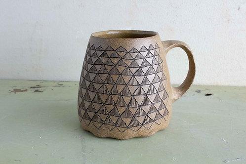 Made to Order  |  Tan Stoneware 10oz Mug