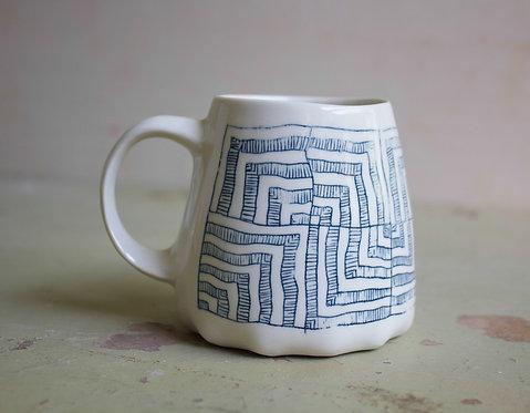 Made to Order  |  Porcelain 10oz Mug