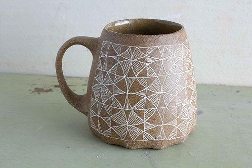 Made to Order     Tan Stoneware 14oz Mug