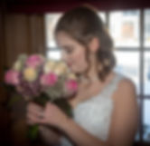 Bride with boquet