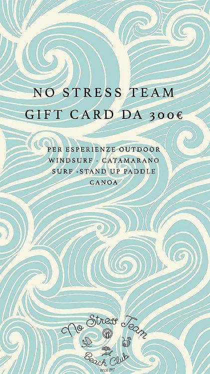 GIFT CARD DA 300 €