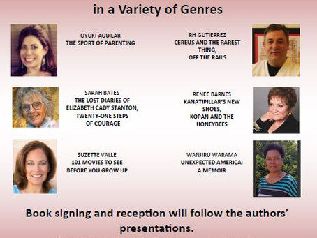 Special Literary Event Featuring Six San Diego Authors
