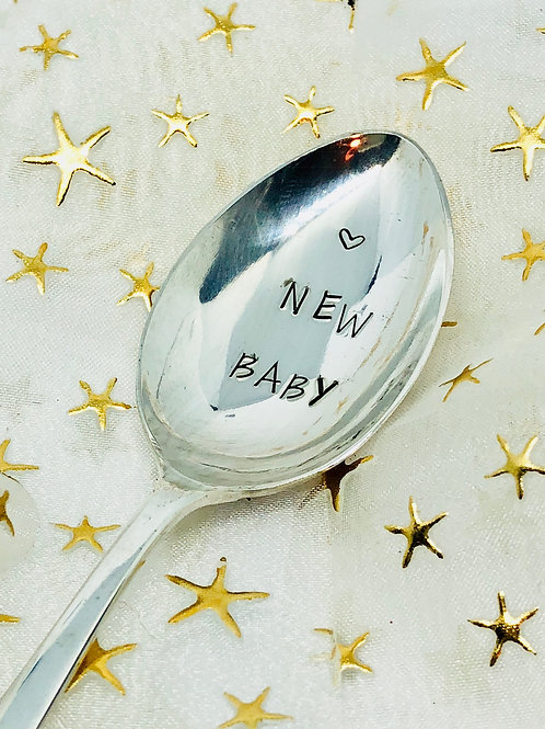 New Baby teaspoon