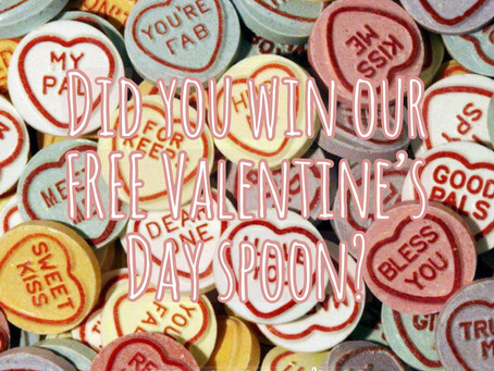 Quirky Message Club'sWinner for Valentine's Day!