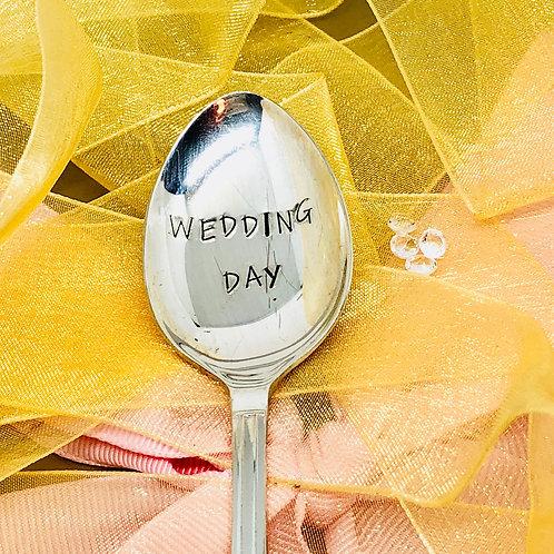 Wedding Day teaspoon