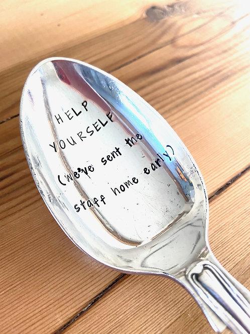Help Yourself serving spoon