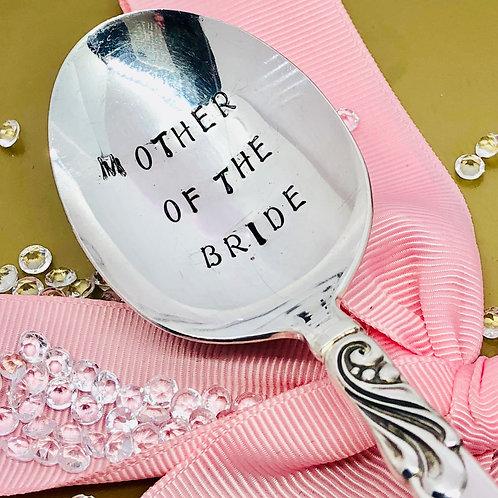 Mother Of The Bride teaspoon