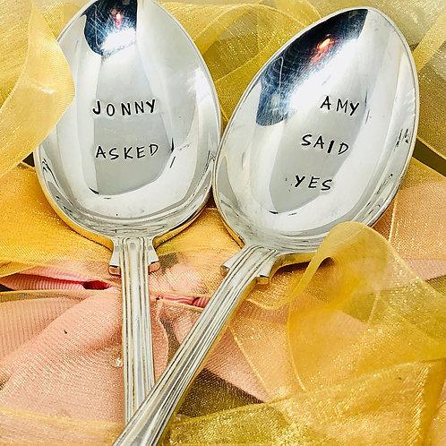 Personalised Serving Spoon