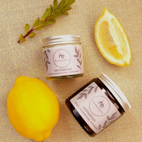 Motivation soy wax candle 60ml/120ml