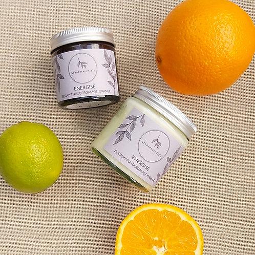 Energise soy wax candle 60ml/120ml