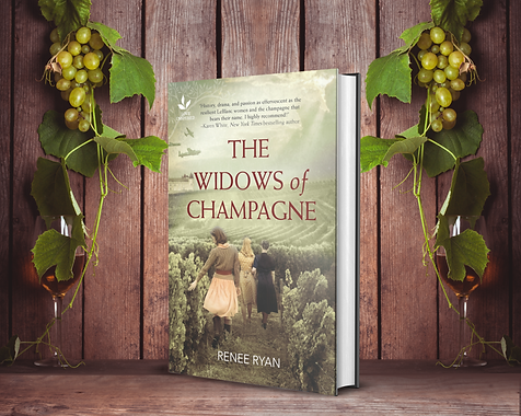 Widows of Champagne, vines background.pn