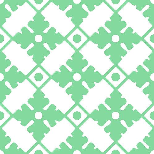Azulejo Verde 03