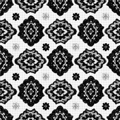 Azulejo Preto e Branco 05 (AJPB-05)