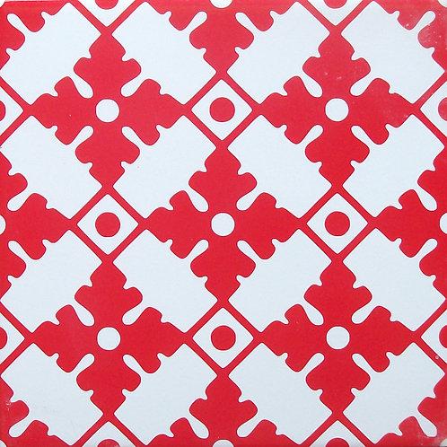 Azulejo Vermelho 03