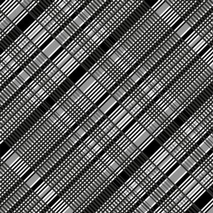Azulejo Preto e Branco 03 (AJPB-03)