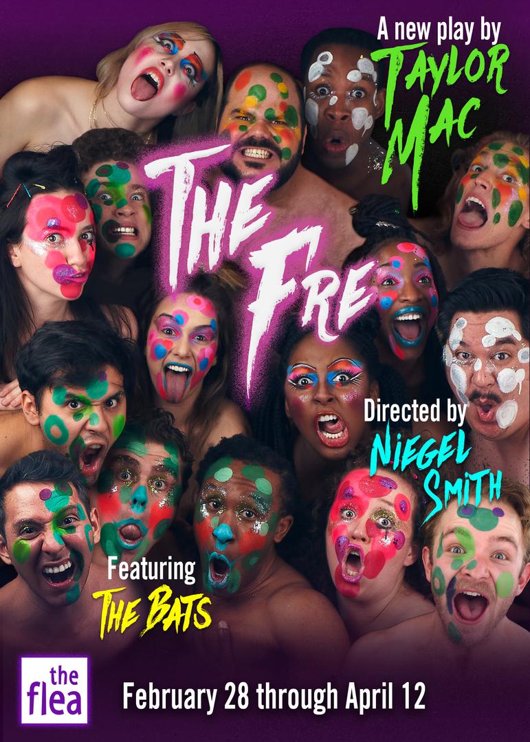 'The Fre' by Taylor Mac Key Art