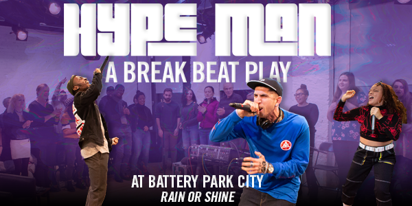 'HYPE MAN: a break beat play' Edit for Email